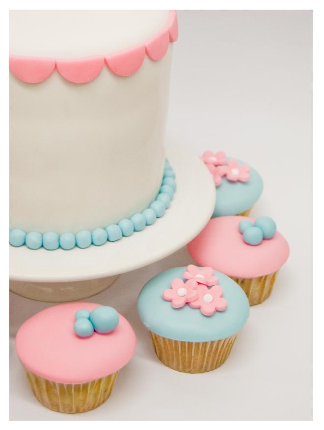 Pastel y Cupcakes Boda