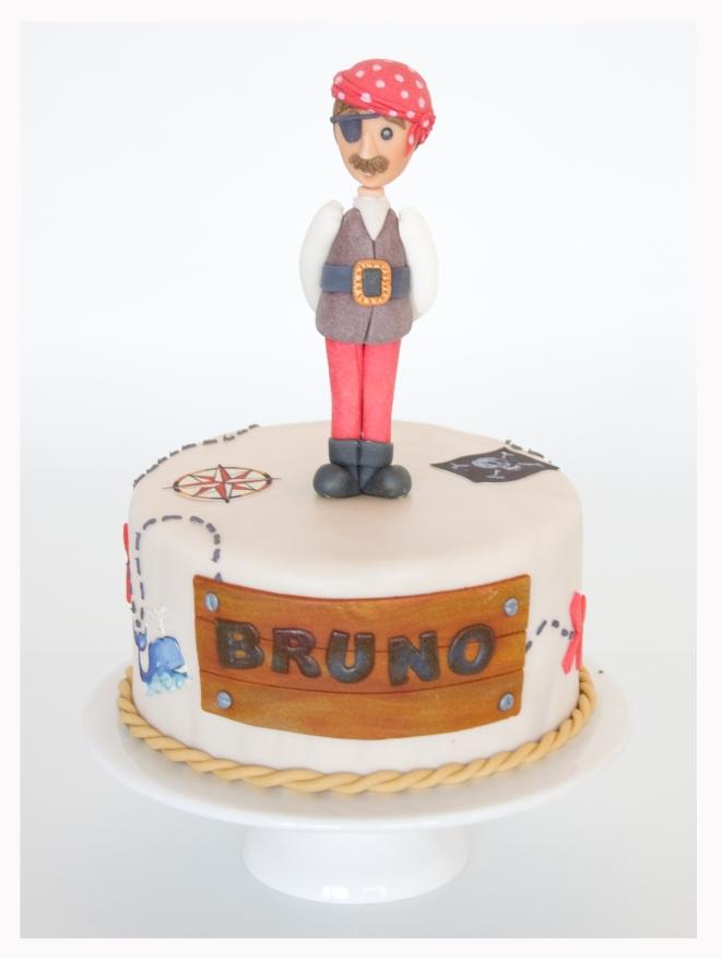 Pastel Pirata Bruno
