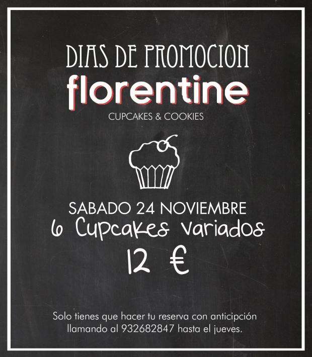 Comienzan las promociones en Florentine Cupcakes