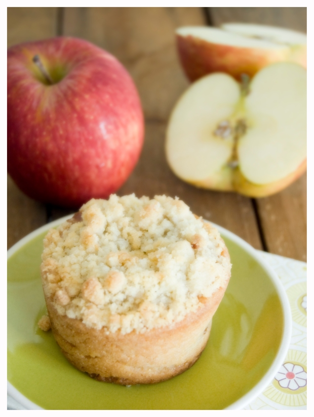 Mini Apple Crumble Pie