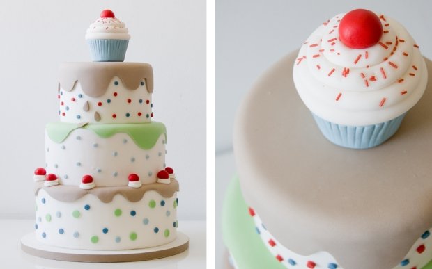 Pastel Cupcake