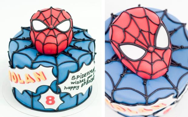 Pastel_personalizado_spiderman_web